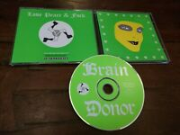 Brain Donor / Julian Cope / Spiritualized - Love Peace & Fuck Cd Perfetto