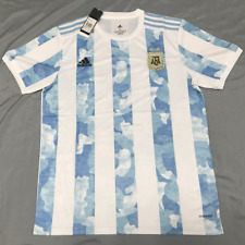 Argentina 2021 Home Soccer Jersey Men's Football Shirt Copa America