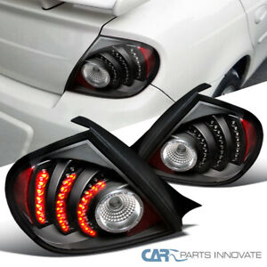 Black Fit 03-05 Dodge Neon SRT4 LED Parking Lamps Tail Rear Brake Lights DEPO