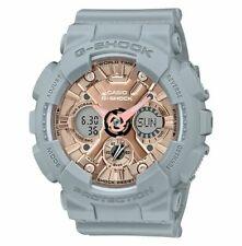 Casio G-Shock wmn Ana-Digital Grey/Rose Gold Watch GMAS120MF-8A