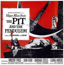 Pit And Pendulum Poster 04 Metal Sign A4 12x8 Aluminium