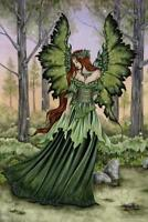 Lady of the Forest by Amy Brown Art Print Mural Poster 36x54 inch