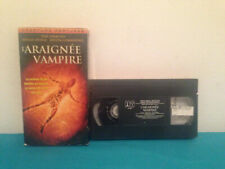 Earth vs the spider /L'araignee vampire VHS tape & sleeve FRENCH