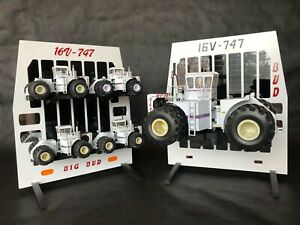 BIG BUD 747 Die-cast Tractor Grill ORIGINAL FACTORY EDITION for 1/64 16V-747