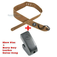 Ebow Plus Hand Held Sustainer effect pedal,Bundled with Leather Guitar Strap