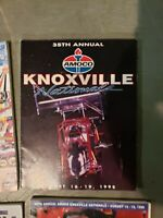 35TH ANNUAL KNOXVILLE NATIONALS. 1995 RACING PROGRAM