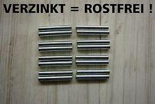 32 Verzinkte Stifte / Bodenträger / Bolzen / Dübel für das IVAR Regal von IKEA