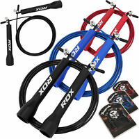 RDX Skipping Rope Speed Jump ropes Boxing Exercise Gym Training Adjustable