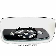 Right Driver side for Volvo 740 83-92 heated wing mirror glass clip on