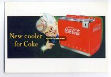 ad1687 - Coca Cola - modern advert postcard