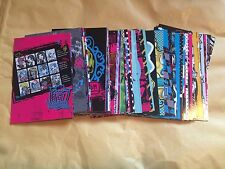 Full set of Monster High Photocards Panini 2011 108 Cards Party Bag Filler