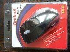 Optical USB Mouse 800DPI 3-button Ergonomic Design Mice Faster Wheel Scroll Zoom