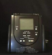 Hilton Hotels Digital Alarm Clock Radio, Band AM/FM, 3.5 Input MP3
