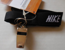 Nike Lanyard and Whistle Wrist Key Ring Black / White Mens Women's