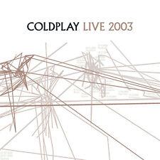 Coldplay - Live 2003 [ECD] (CD+DVD, 2 Disc Set, 2003, Capitol Records)