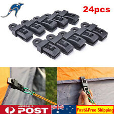 24pcs Heavy Duty Reusable Tarp Clips Tent Canvas Clamp Camping Survival Tool