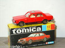 Nissan Bluebird Turbo - Tomica 17 Japan in Box 1:64 *24630