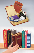 Dictionary Book Safe Fake magnetic Storage Box Hide Secret Valuables BookSafe