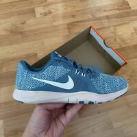 Nike Women's Flex Trainer 8 Size UK 5 EUR 38.5 Blue 924339 400 NEW