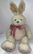 "First and Main Menagerie Bunn E. Rabbit Plush Bunny 17"" Stuffed Vintage"