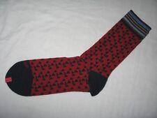 BNWOT -  DUCHAMP LONDON Fine Egyptian Cotton Mens Socks Red Navy Blue