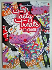"""TASTY TREATS TO COLOR"" ADULT COLORING BOOK by KAPPA ~ DESIGNER SERIES"