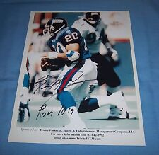 NY Giants Keith Elias Signed Autographed 8.5x11 Photo