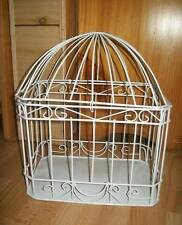 WEDDING ENGAGEMENT WIRE BIRD CAGE CARD KEEPER WISHING WELL NEW
