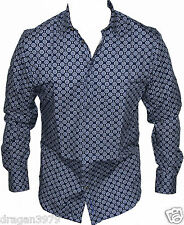 New Ben Sherman Mens Casual Shirt in Blue Colour Size S