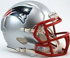 New England Patriots Riddell NFL Football Team Revolution SPEED Mini Helmet