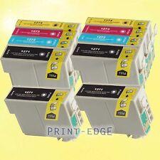 10 Pack Ink Cartridges 127 T127 for Epson 127 WorkForce WF-7010 WF-7510 WF-7520