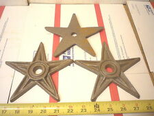6  CAST IRON 6 '' TEXAS STARS AMERICANA STAR OLD BUILDING STYLE CRAFT