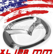 1 - NEW Mazda 2 3 5 6 Rear Badge Emblem Speed MAZDA 128mm CHROME