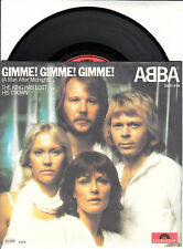"""ABBA  Gimme! Gimme! Gimme! (A Man After Midnight) PICTURE SLEEVE 7"""" 45 BRAND NEW"""
