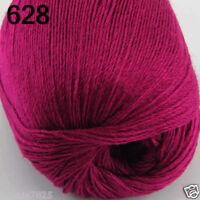 NEW Luxurious Soft 50g Mongolian Pure 100% Cashmere Hand Knitting Wool Yarn 628