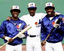 Andre Dawson, Warren Cromartie Montreal Expos 8x10 Photo