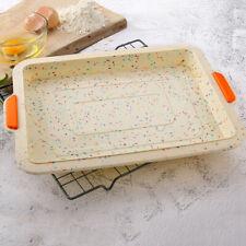 Square Silicone Baking Tray Pan Mold Pan Bread Cake Molds DIY Bakeware Mould Pan