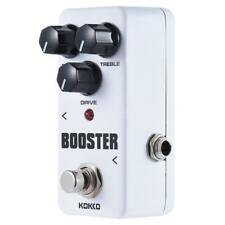 KOKKO FBS2 Mini 2-Band EQ Guitar Booster Effect Pedal Portable K3C9