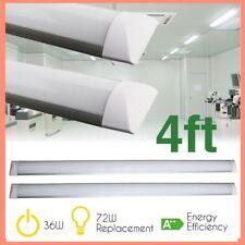 LED Batten Slimline Tube Light Wall/Ceiling Mount 4FT 120CM 36W 6000K PACK OF 6