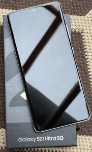 Samsung Galaxy S21 Ultra 5G SM-G998B/DS - 256GB - Phantom Silver (Ohne Simlock)