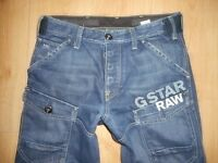 G-STAR STORM ELWOOD   MEN JEANS W32 L32  32/32