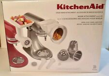 Kitchen Aid Stand Mixer Attachment KGSSA Grind Slice Shred and Stuff. New in Box