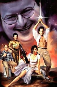 "Seinfeld Poster #101 Star Wars Art 24x36"""