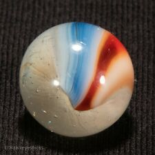 GORGEOUS Vitro Agate Tri Lite Vintage Marble 5/8 nm hawkeyespicks