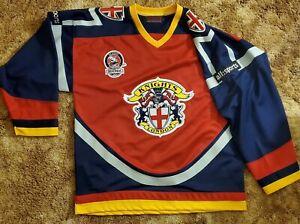 London Knights UK replica hockey jersey XL