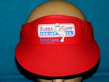 FOREST GUMP : Movie Promo BUBBA GUMP SHRIMP CO. Sun Visor CAP/HAT @ Retro 1994