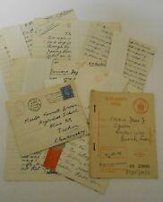 ETON school boys history work 1942   &  family ration book KENNETH  PASKIN