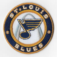 NHL St. Louis Blues Iron on Patches Embroidered Patch Applique Badge Sew Round