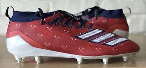 Adidas Adizero 8.0 Burner Football Cleats EF1552 Size 11.5 Red White Blue