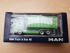 Herpa 915120 MAN TGS Abrollcontainer LKW Grün